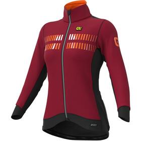 Alé Cycling Clima Protection 2.0 Future Nordik Veste Femme, masai red